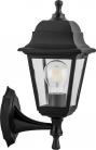 Светильник садово-парковый Feron НБУ 04-60-001, вверх/вниз, 4-х гранник 60W E27 230V, черный