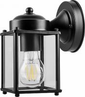 Светильник садово-парковый Feron PL200 60W E27 230V, черный