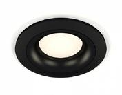 XC7622002 SBK/PBK черный песок/черный полированный