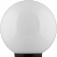 Светильник садово-парковый Feron НТУ 01-60-251 шар ПМАА E27 230V, молочно-белый