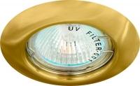 Светильник потолочный Feron, MR16 G5.3 золото, DL13