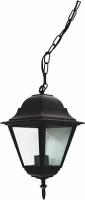 Светильник садово-парковый Feron 4105 четырехгранный на цепочке 60W E27 230V, черный