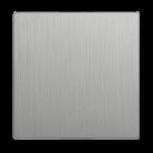 Клавиша для выключателя перекрестного WL09-SW-1G-C-CP серебряный рифленый
