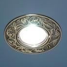 Точечный светильник 711 SB (бронза)