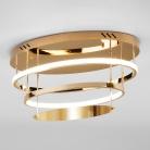 Потолочный светодиодный светильник 90160/2 золото