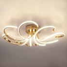 Светодиодный потолочный светильник 90096/8 золото